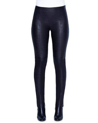 49d99833 Quick Look. Akris · Fria Napa Leather Skinny Pants