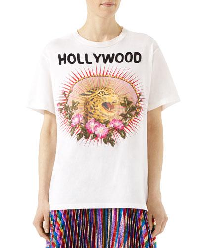6423ebff60b0 Gucci White Tshirt | Neiman Marcus