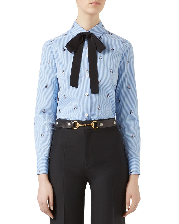 Rabbit Fil Coup & #233 Shirt, Light Blue