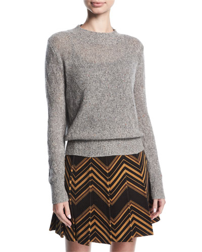 Chevron Cashmere Sweater
