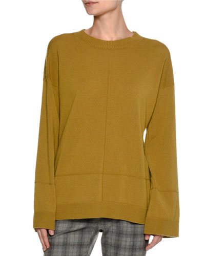 Cashmere Full-Sleeve Pullover