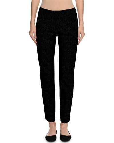 Kim Virgin Wool Slim Ankle Pants