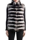 Chinchilla Fur Vest