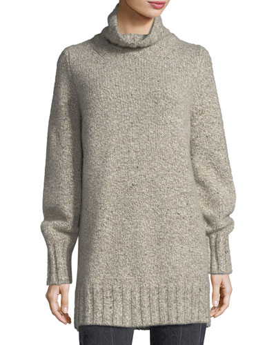 Noon Cashmere Turtleneck Tunic
