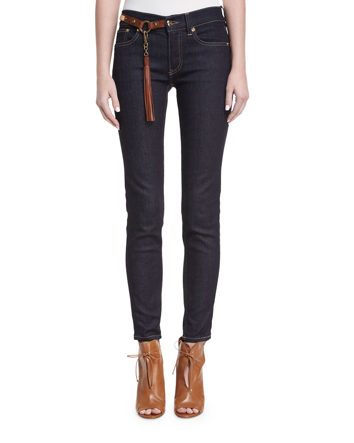 400 Matchstick Jeans with Harness