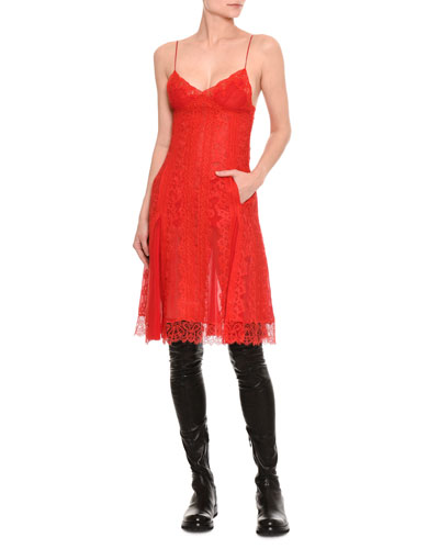 Chantilly Lace Slip Dress