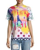80s Graffiti Graphic T-Shirt