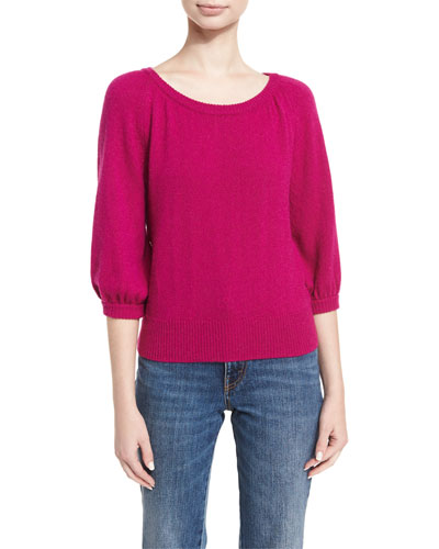 Raglan Cashmere Sweater