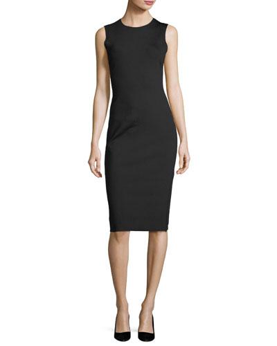 8071020c65de9 Quick Look. THE ROW · Devi Sleeveless Sheath Dress. Available in Black