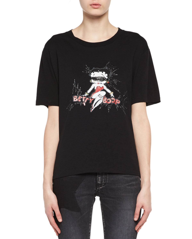 Betty Boop Boyfriend T-Shirt