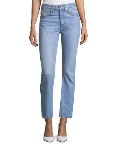 Belle Cropped Denim Jeans