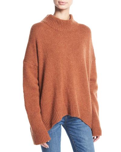Orange Cashmere Sweater | Neiman Marcus