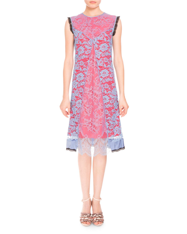 Harry Sleeveless Lace Dress