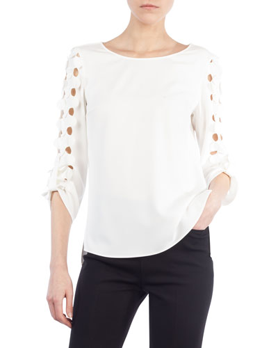 Cutout Punto Dot Top