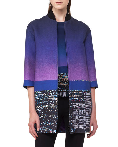 Twilight City Bomber Coat