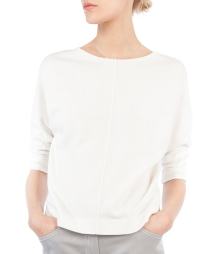 Off White Cashmere Sweater | Neiman Marcus
