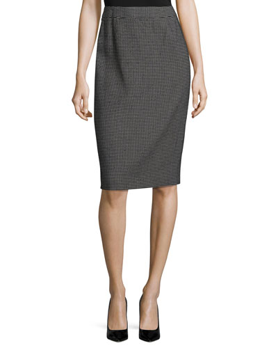 Ravas Pixie-Print Pencil Skirt