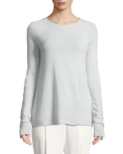 Shayna Long-Sleeve Cashmere Sweater