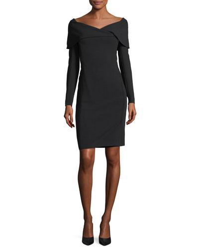 Quick Look. Ralph Lauren Collection � Maxine Portrait-Collar Dress