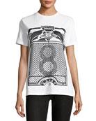 Crewneck 8 Graphic-Print T-Shirt