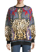 Animal & Paisley Sweatshirt