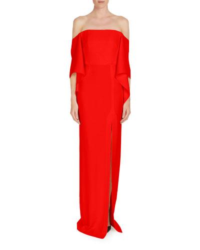 Octon Off-the-Shoulder Column Dress