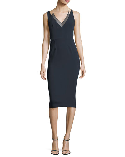 Newlyn Sleeveless Layered V-Neck Dress