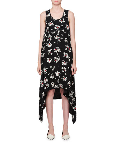 Discount Factory Outlet Sleeveless Knit Dress - Black Proenza Schouler Excellent Cheap Online Sale Online scJBPacL