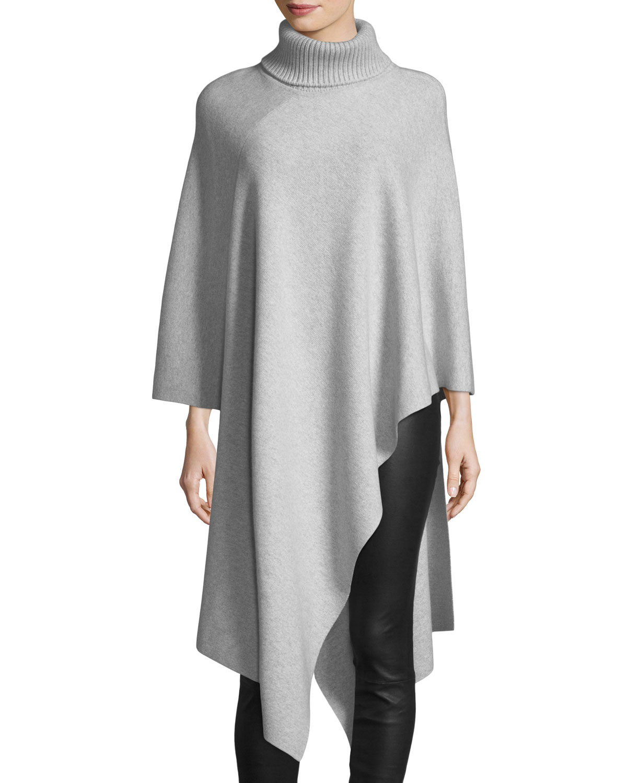 Cashmere Turtleneck Tunic Sweater