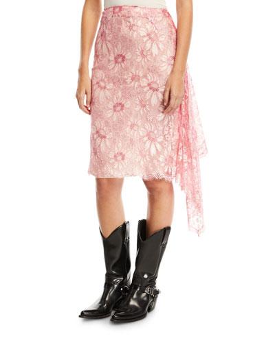 1d4684d39ccd Lace Knee Skirt | Neiman Marcus