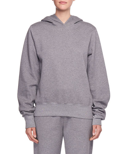 Wren Hooded Cotton Sweatshirt