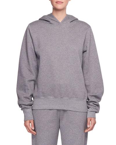 Wren Hooded Cotton Sweatshirt