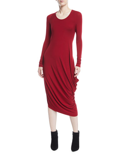 black rodwell dress dresses image s faded clothing etoile draped isabel jersey women marant drapes