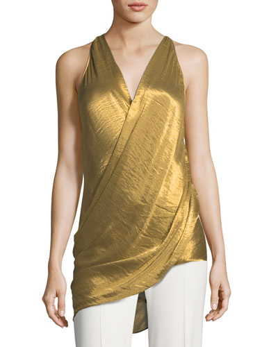 Liquid Draped Top
