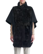 Mink Fur Jacket with Cashmere Back