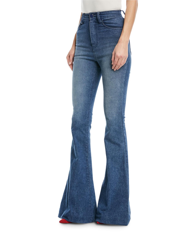 Bellbottom Denim Jeans
