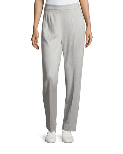 Tsisa Melange Side-Zip Pants
