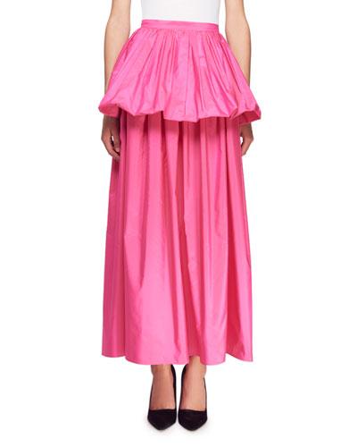 Noelle Peplum Full Skirt