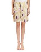 Helo Floral Drawstring Shorts