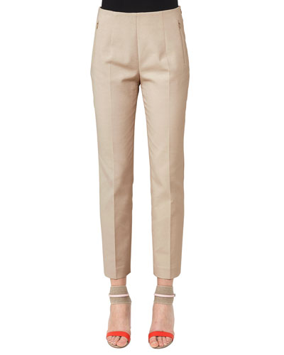 Conny Straight-Leg Ankle Pants
