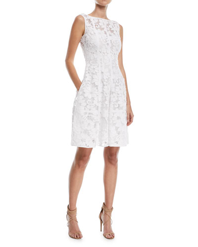 Golo Floral Lace Cocktail Dress