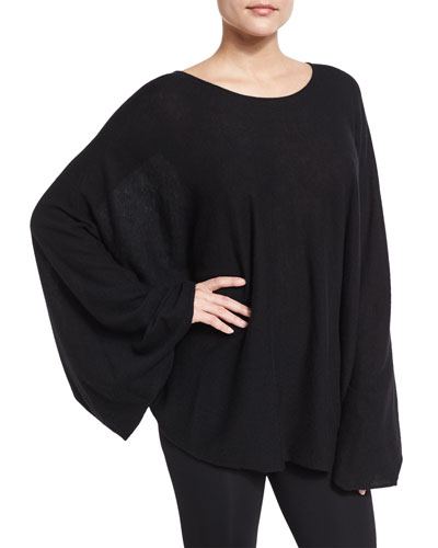 Bandal Cashmere Dolman Sweater, Black