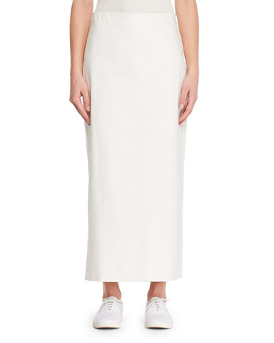 Aylor Straight Cotton Skirt