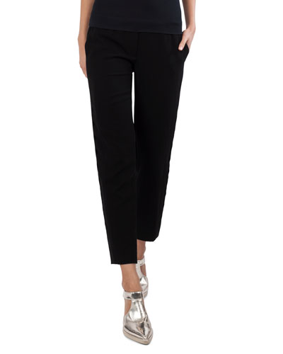 Fayola Straight-Leg Ankle Pants