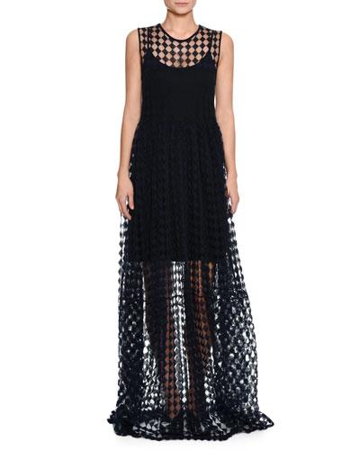 Scoop-Neck Camisole Slip Dress