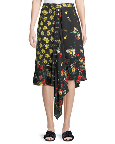 dbbed19460 Black Silk Skirt | Neiman Marcus