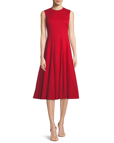 3b7068f0f6a Quick Look. Derek Lam · Sleeveless Fit-and-Flare Cocktail Dress. Available  in Red