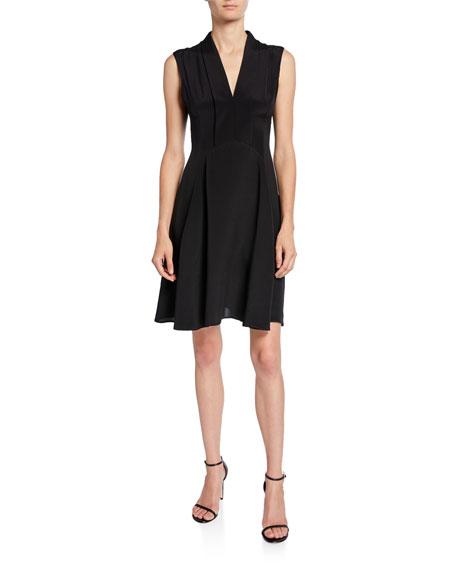 Derek Lam Scarf-Neck Dress