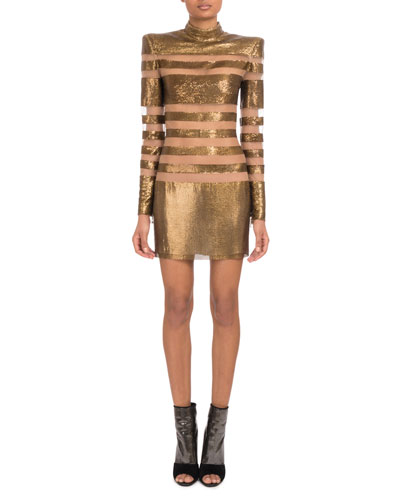 8d03711ec786 Mock Neck Dress