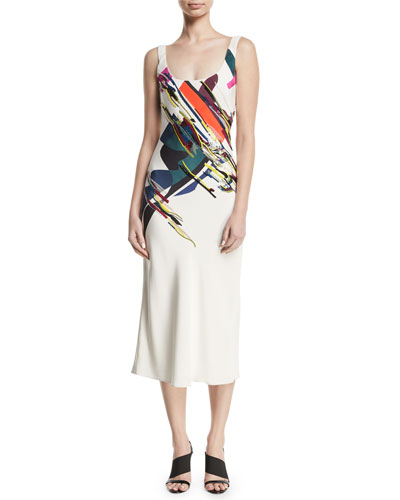 cce5e9aac0e3 Scoop Neckline Slip Dress | Neiman Marcus